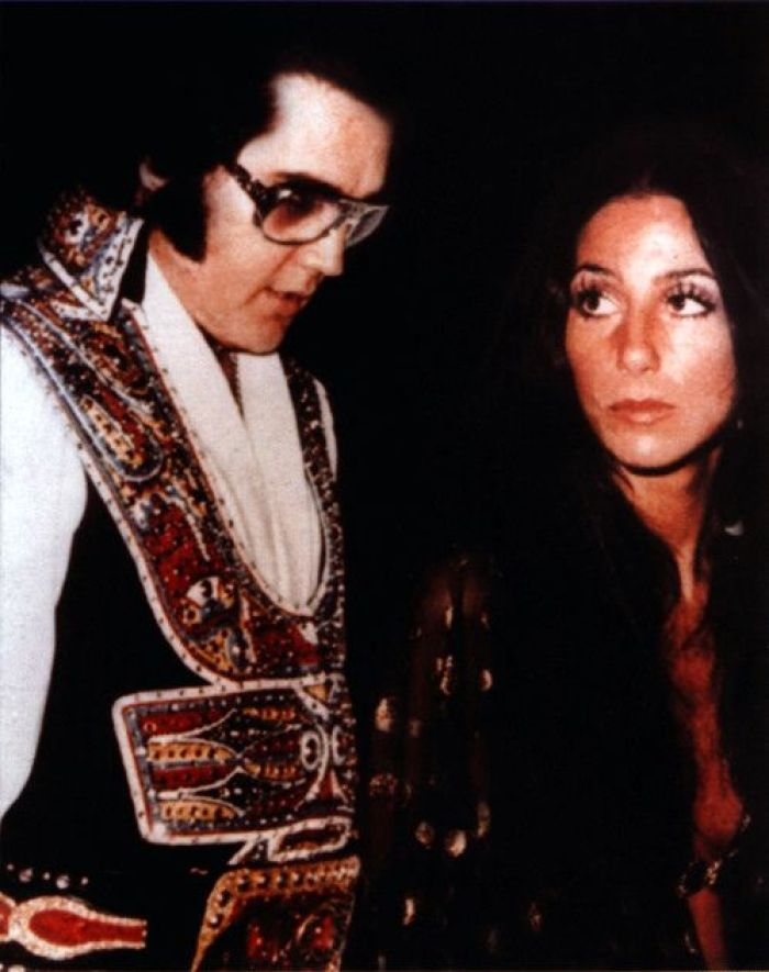 "Cher Reveals She Was ""Too Nervous"" To Date Elvis Presley"