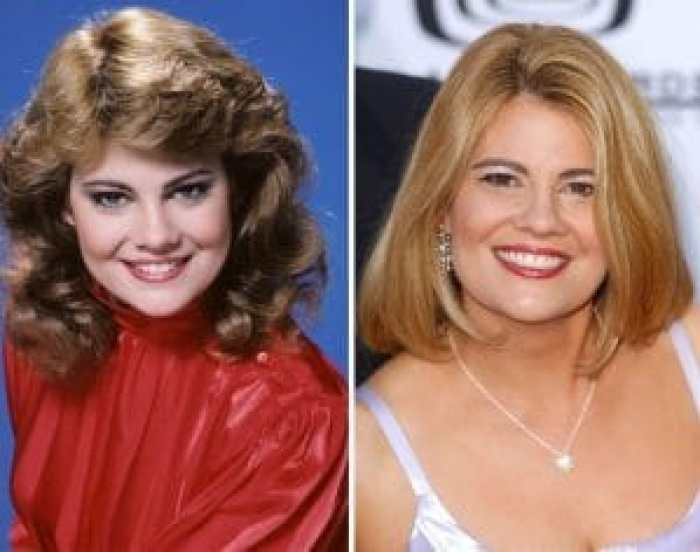 Lisa Whelchel then and now