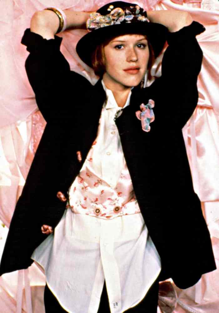 PRETTY IN PINK, Molly Ringwald, 1986