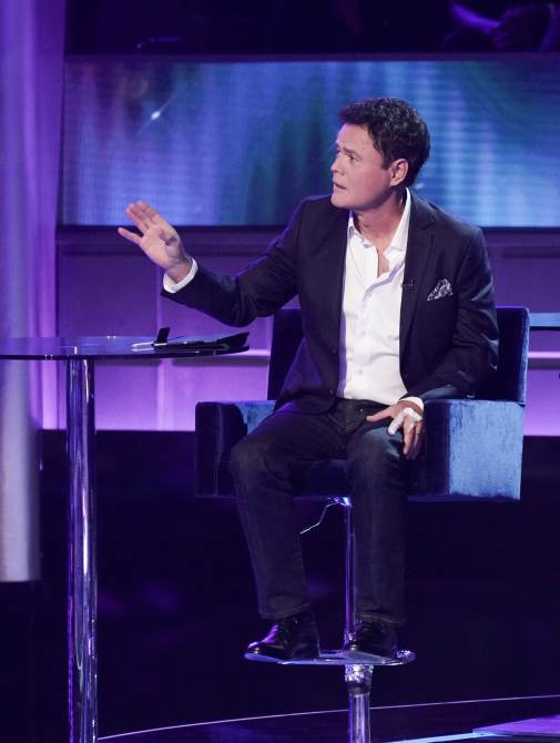 I CAN SEE YOUR VOICE, panelist Donny Osmond