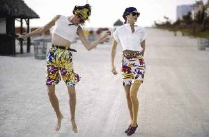 Vogue set a beautiful photoshoot in Miami that set the stage for more fashion trends