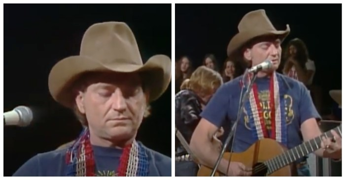 Willie Nelson performing 'Red Headed Stranger' in its entirety in 1976