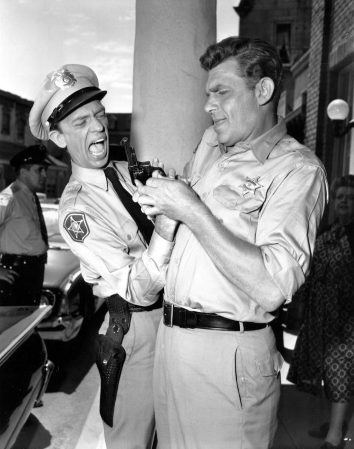THE ANDY GRIFFITH SHOW, Don Knotts, Andy Griffith,
