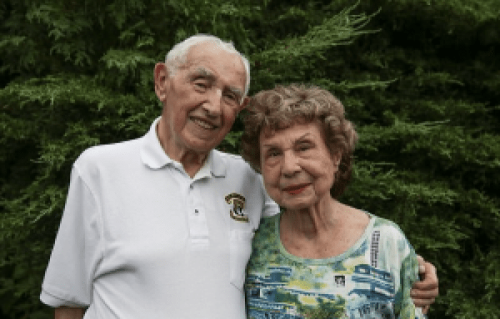 The former couple almost reunited again in America, no longer prisoners of Auschwitz. Mr. Wisnia met his wife there, a woman named Hope