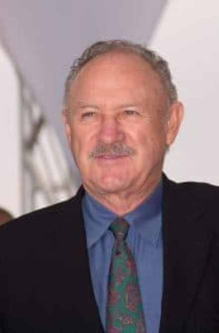 Actor GENE HACKMAN at the Cannes Film Festival