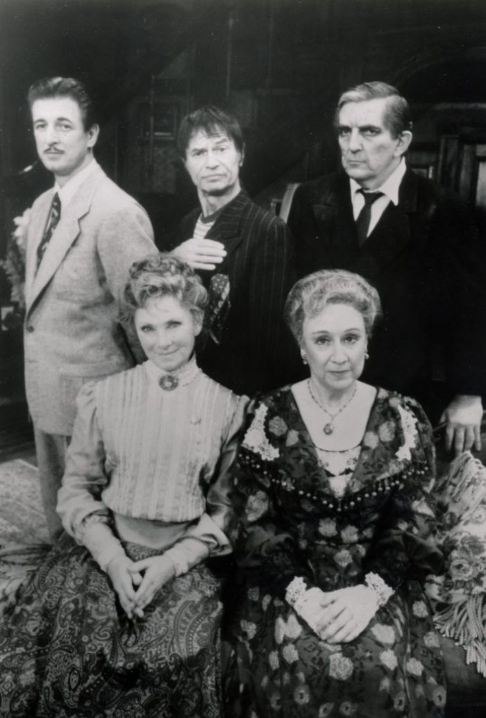The cast of 'Arsenic and Old Lace'