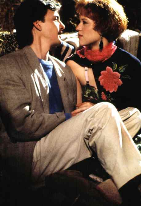 PRETTY IN PINK, Andrew McCarthy, Molly Ringwald, 1986