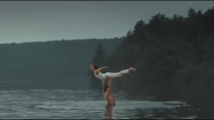 Fans readily remember this scene from Dirty Dancing