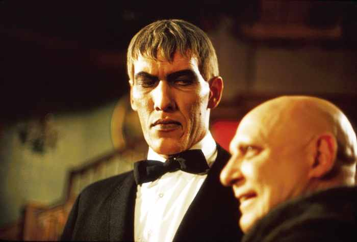 THE ADDAMS FAMILY, from left: Ted Cassidy, Jackie Coogan, 1965