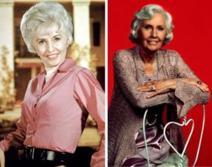 Barbara Stanwyck in The Big Valley and Thornbirds