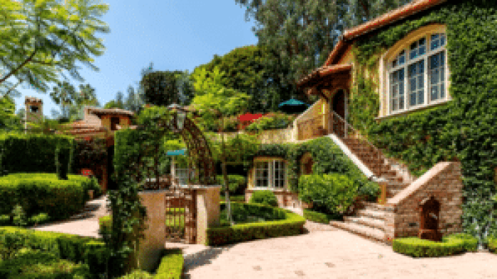 The Beverly Hills estate has been called a quintessential example of the Spanish architecture style