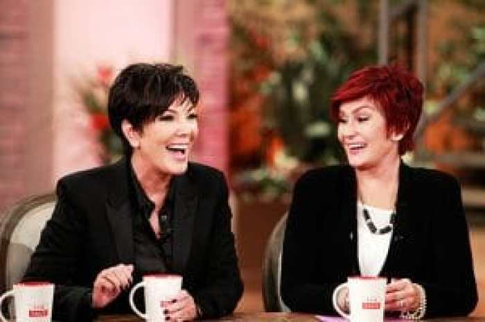 sharon osbourne and kris jenner on the talk