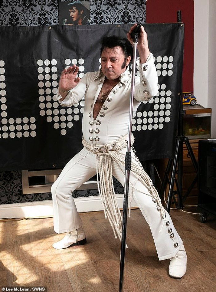 Dean Holland, Elvis impersonator