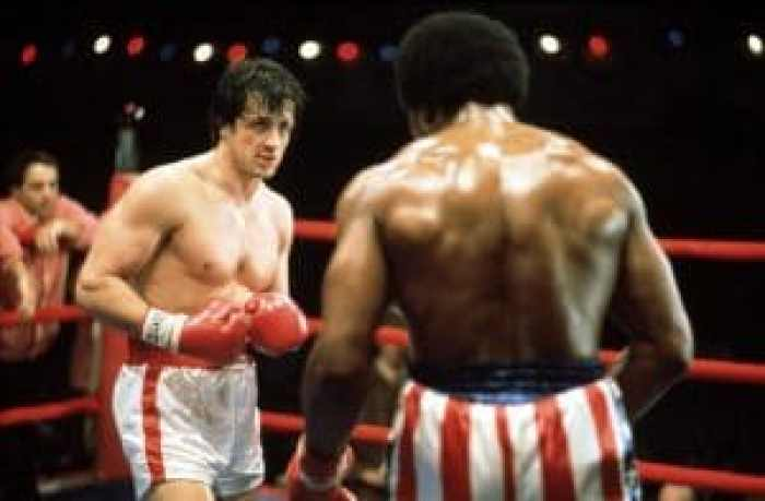 ROCKY, Sylvester Stallone, Carl Weathers