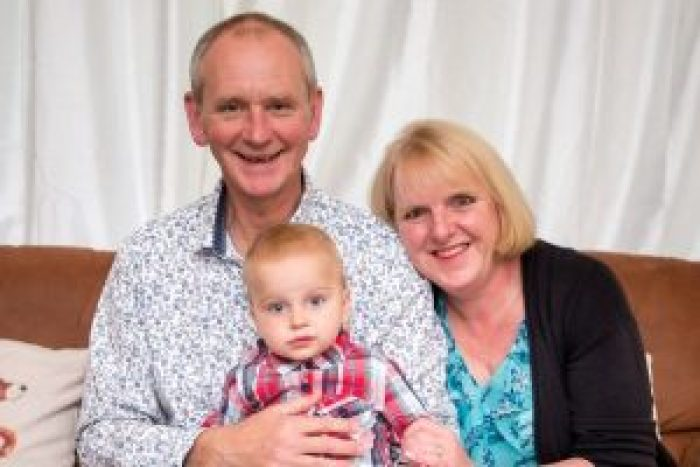 Louise, Mark and William Warenford
