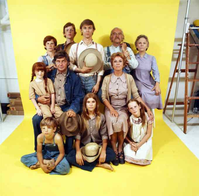 the waltons cast
