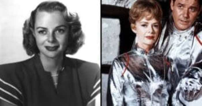 June Lockhart then and after