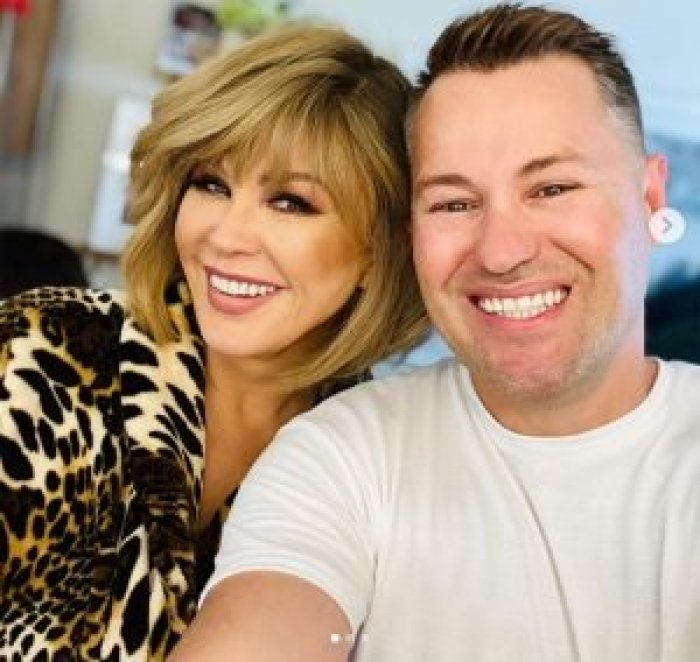 Marie Osmond unveiled a new hairstyle first on her show then Instagram