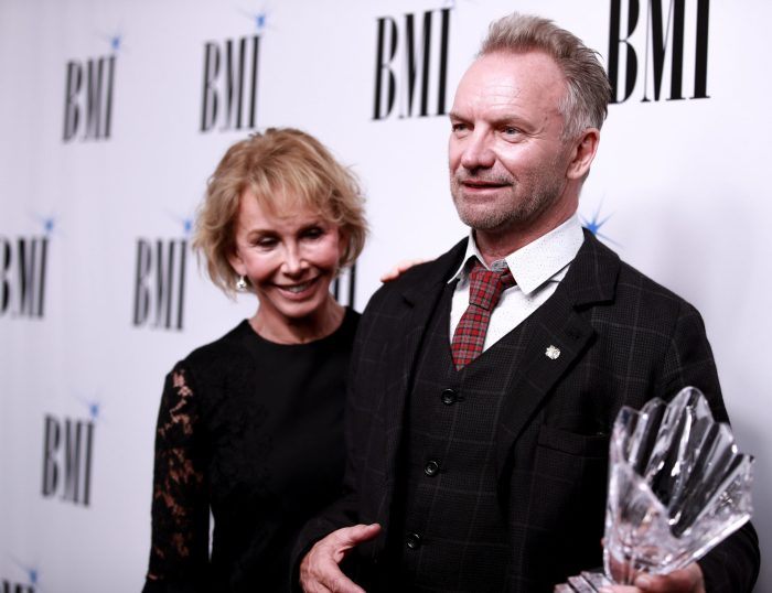 sting and wife trudie