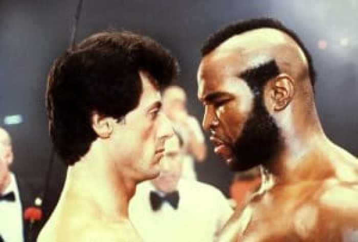 Stallone vs. Mr. T