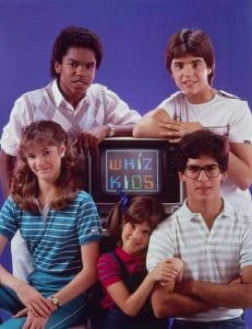 Elson acted alongside another future TV star in Whiz Kids