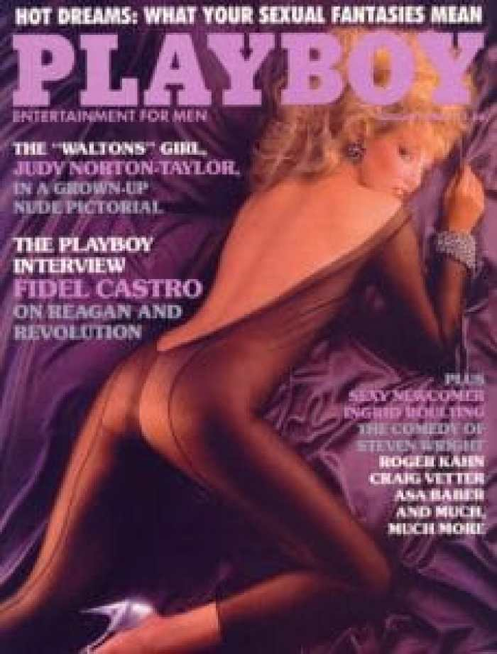 Judy Norton Taylor posed for Playboy