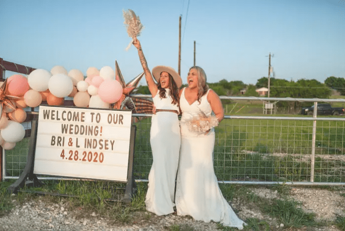 Couple's Wedding Canceled Due To Coronavirus, So They Get Married At Drive-In Theater