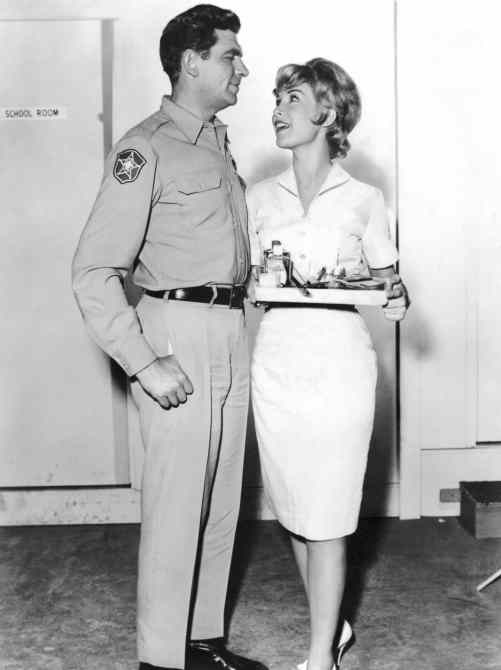 THE ANDY GRIFFITH SHOW, Andy Griffith, Barbara Eden, 'The Manicurist'