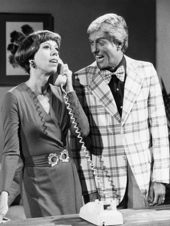 THE CAROL BURNETT SHOW, from left, Carol Burnett, Dick Van Dyke