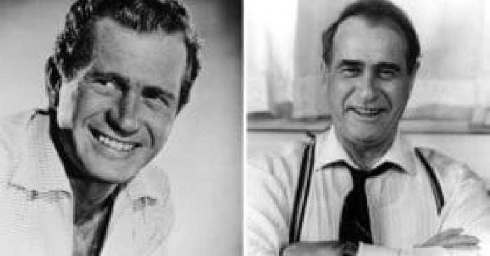 Darren McGavin before and after joining the cast of A Christmas Story
