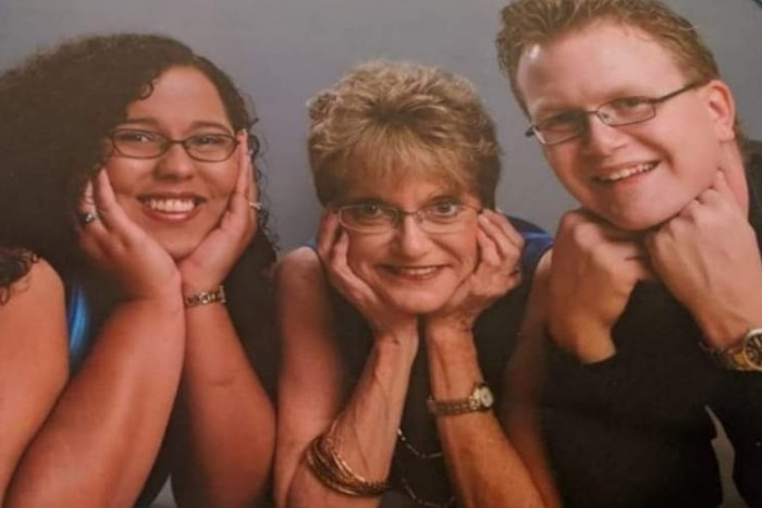 Denise Nickerson and family