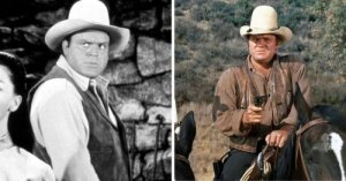 Dan Blocker then and after