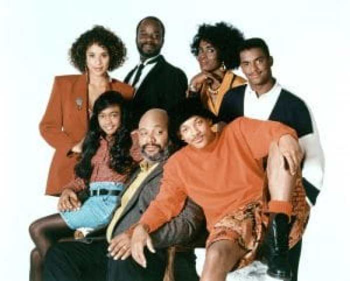The original cast of The Fresh Prince of Bel-Air