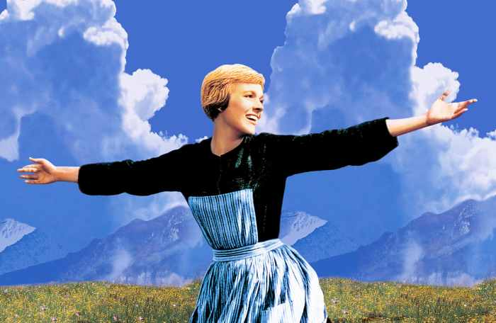 Julie Andrews Really Struggled With The Opening Scene Of 'The Sound Of Music'