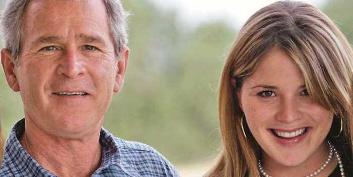 jenna bush hager conversation with dad about drinking