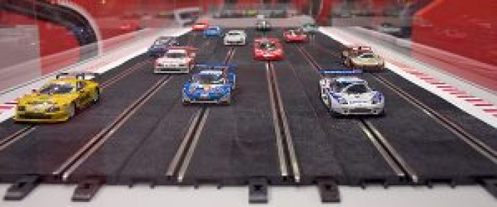 Slot car racing was very popular in the '60s