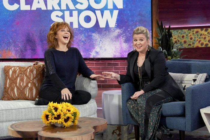 reba mcentire on the kelly clarkson show