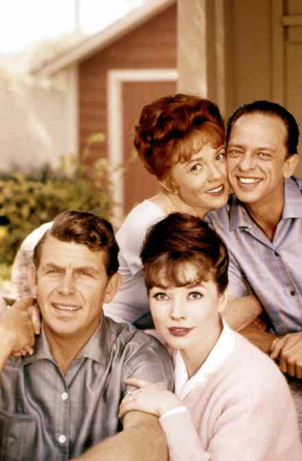 THE ANDY GRIFFITH SHOW, Betty Lynn, Don Knotts, Aneta Corseaut, Andy Griffith, Season 5, 1964-1965