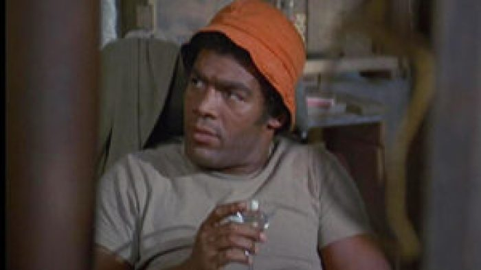 Timothy Brown in M*A*S*H