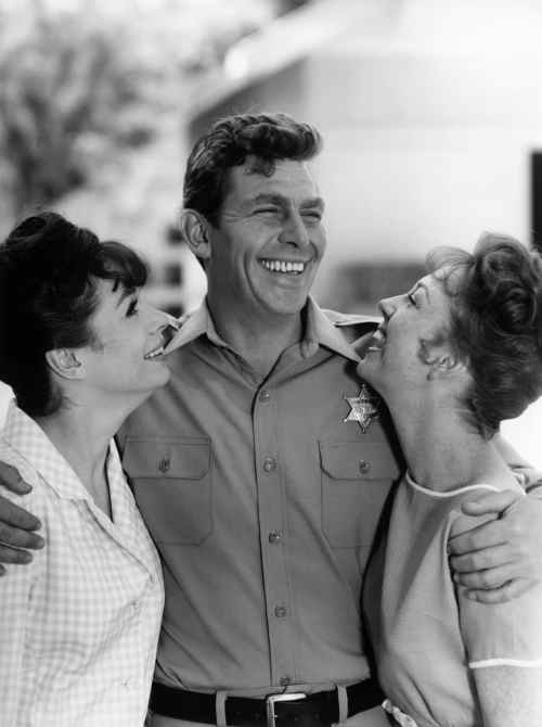 THE ANDY GRIFFITH SHOW, Aneta Corsaut, Andy Griffith, Betty Lynn (ca. 1964-Season 4), 1960-68