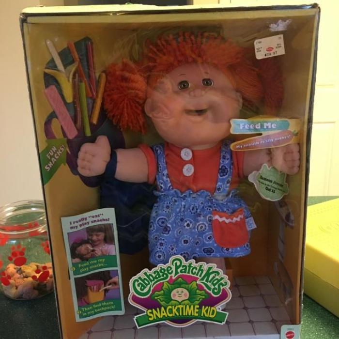 Cabbage Patch Snacktime Doll