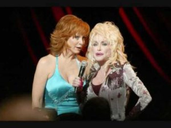 """Reba McEntire and Dolly Parton team up for """"Does He Love You"""""""