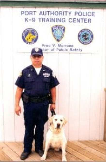 The 9/11 Memorial and Museum honors both Lim and his beloved police dog Sirius