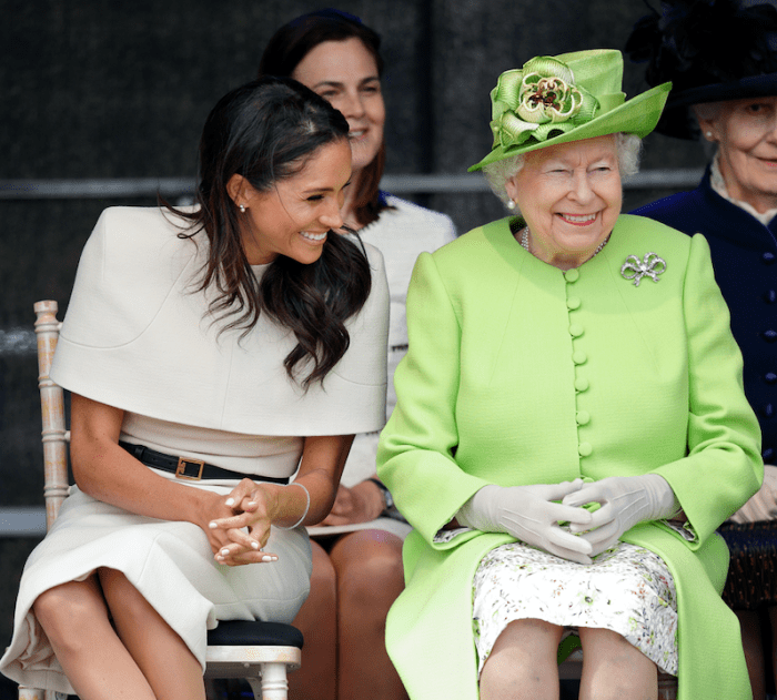 queen's guests told not to mention meghan markle prince harry