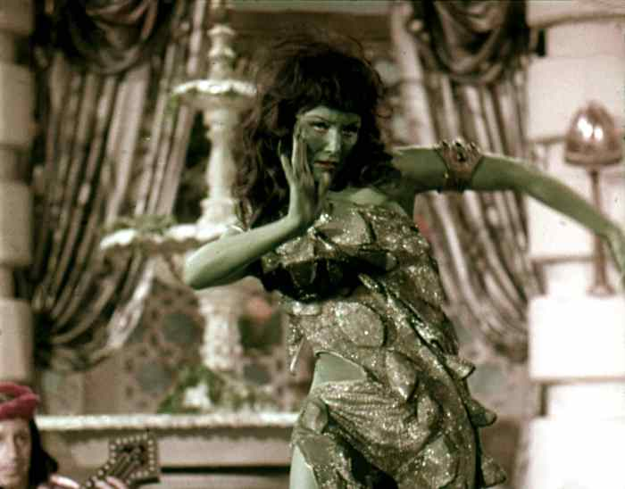 susan oliver as the green girl