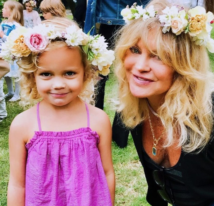 goldie hawn and granddaughter rio