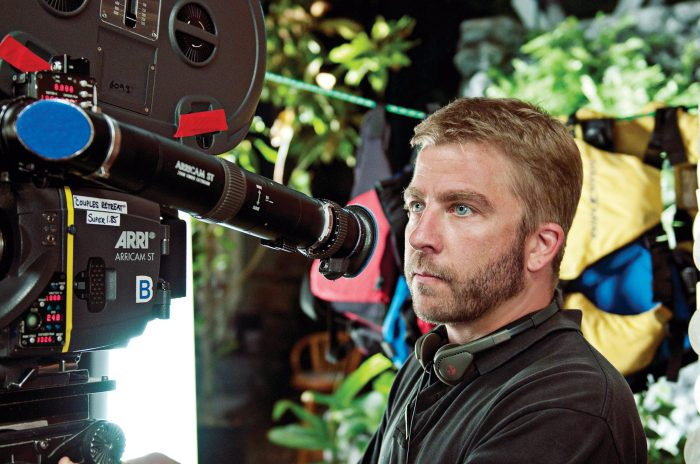 Peter Billingsley on the set of Couples Retreat