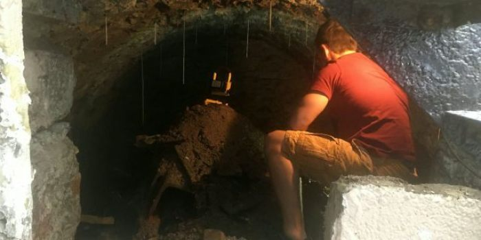 new homeowner discovers secret cellar dating back 100 years