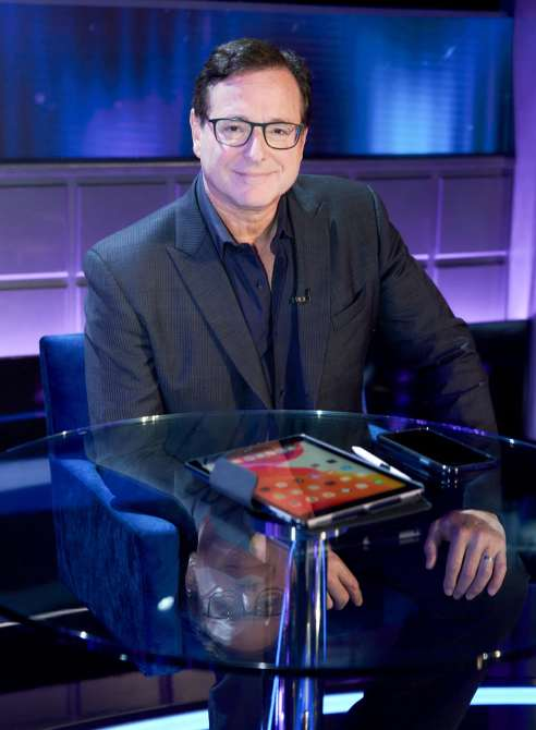 I CAN SEE YOUR VOICE, panelist Bob Saget