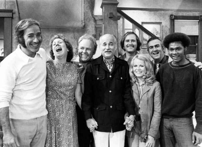 all-in-the-family-norman-lear-and-cast